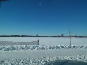 lots of minnesota snow